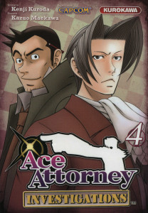 Ace Attorney investigations 4