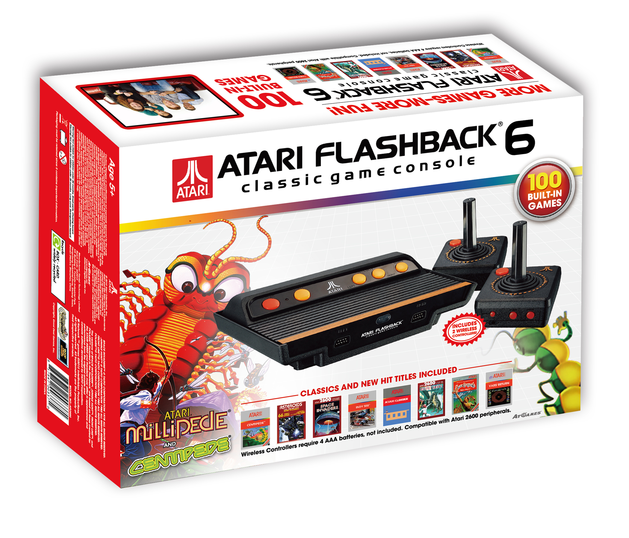 Atari FB6 (AR2680)- box 3D image