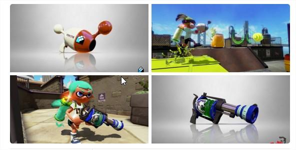 Nintendo France sur Twitter  Le Proxiblaster Néo et l'arroseur lourd Cétacé seront disponibles demain matin. #Splatoon #WiiU https