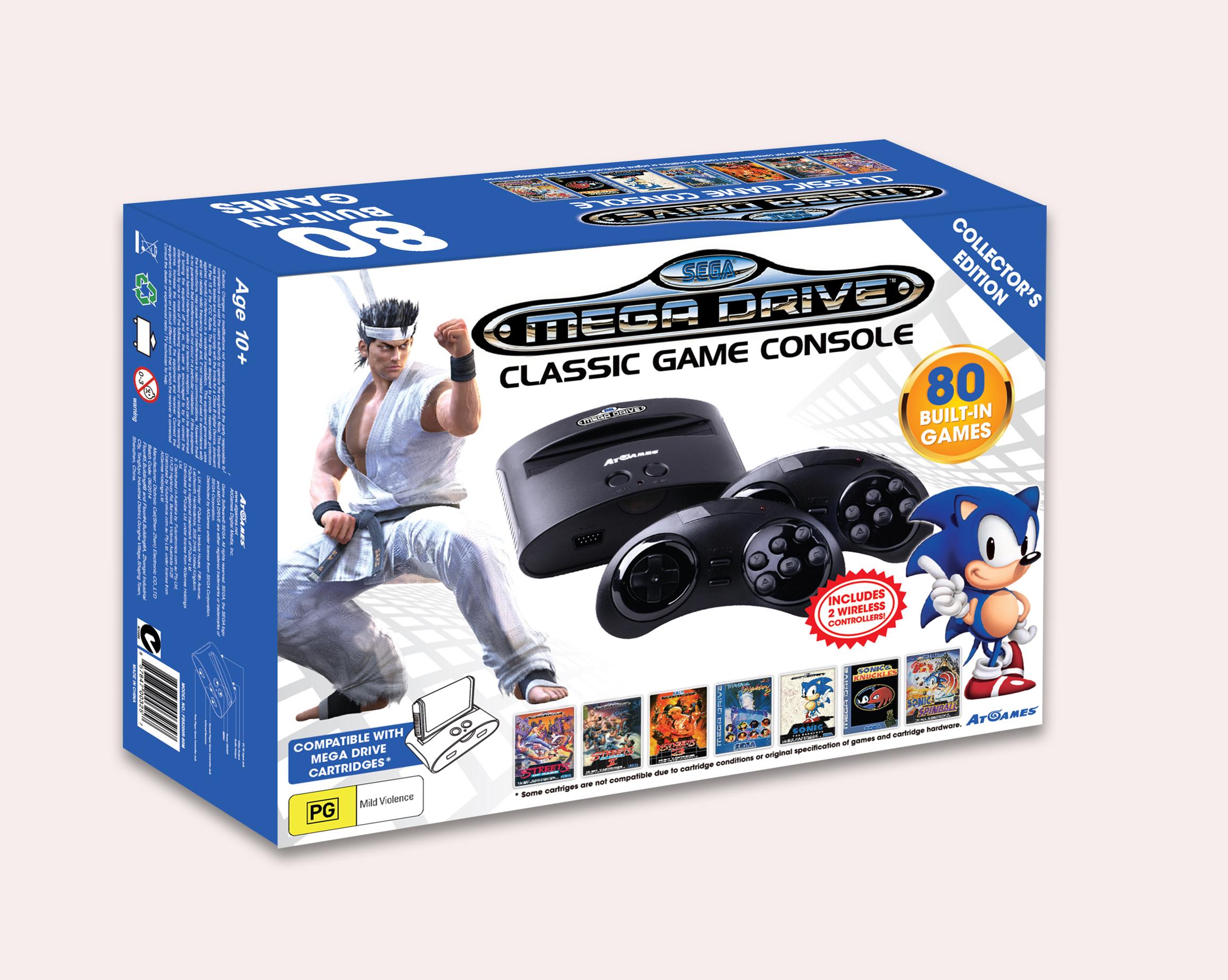 Sega Mega Drive Classic Console (FB8200R-80M)- box 3D image