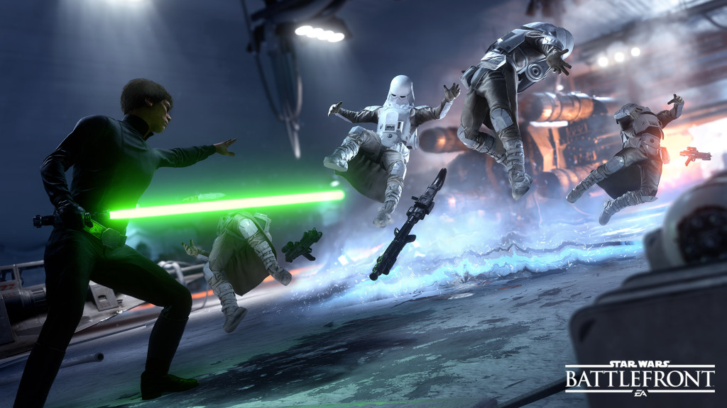 Star Wars Battlefront E3 Screen 1_ Luke Force Push_v3-WM