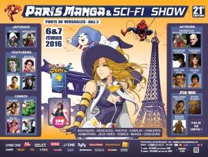 Paris Manga & Sci-Fi Show @ Paris