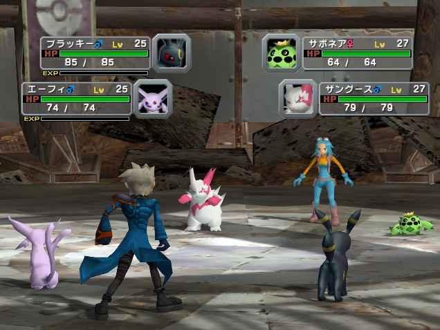 Pokemon Colosseum sur GameCube