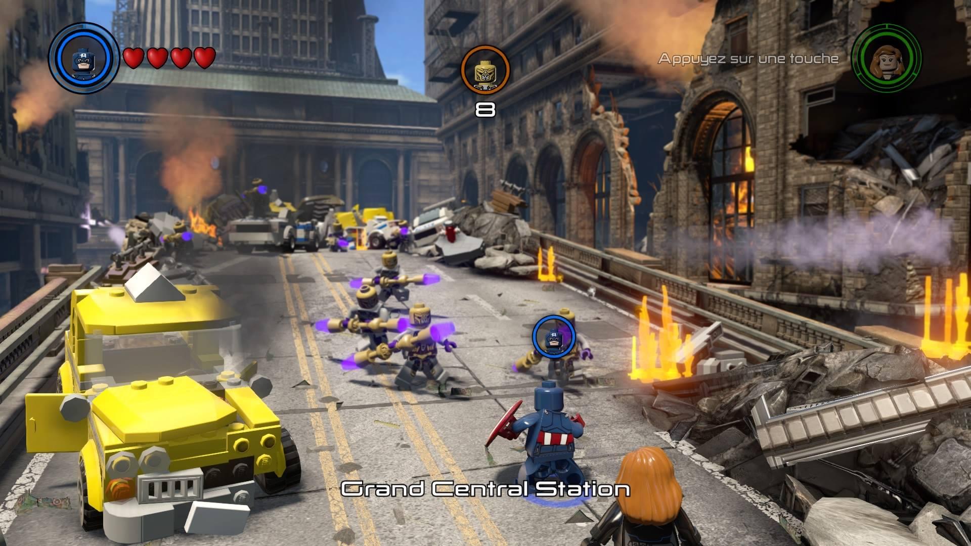 Le gameplay est quasiment le même que dans les autres jeux Lego, à quelques nouveautés près