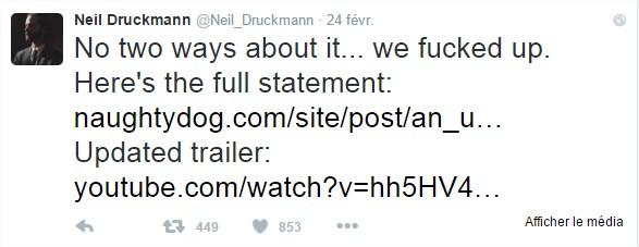 Neil Druckmann (@Neil_Druckmann)  Twitter - Google Chrome