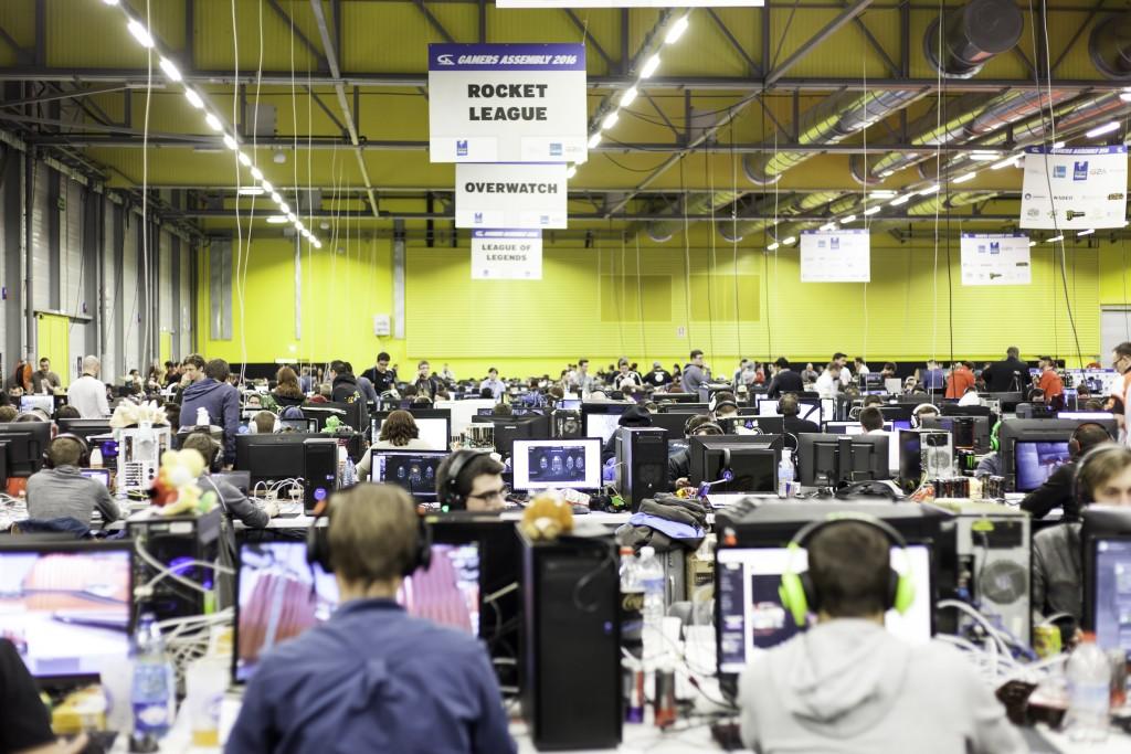 La Gamers Assembly, ou le paradis sur terre pour les gamers (Copyright : Mathias Nicolas)