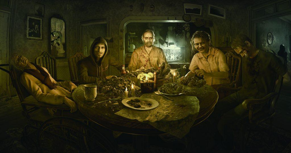 Resident Evil VII artwork
