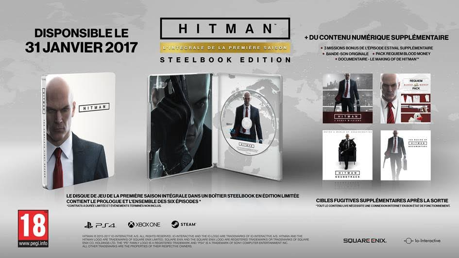 version boîte de Hitman