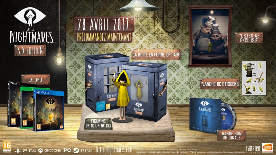 Little Nightmares collector