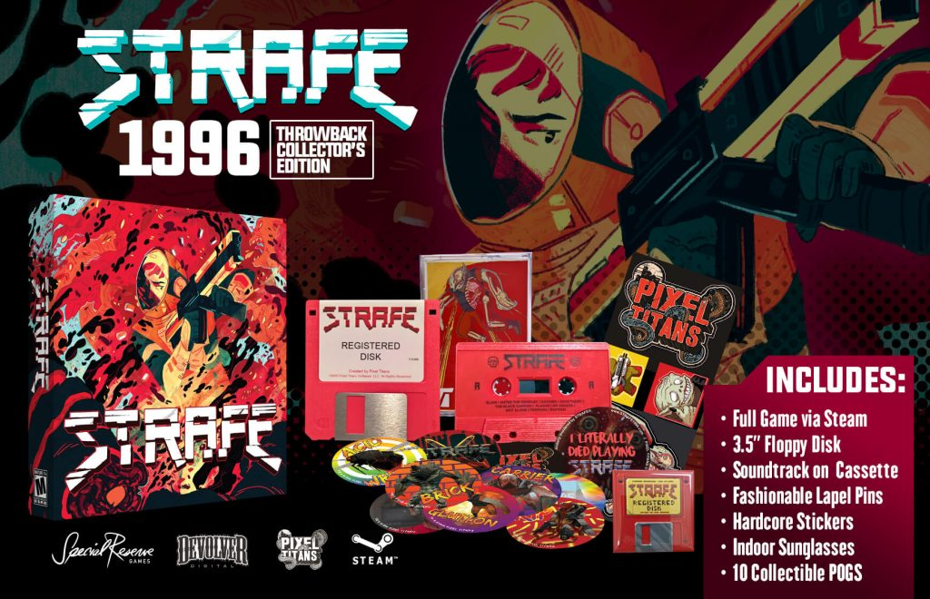Strafe collector