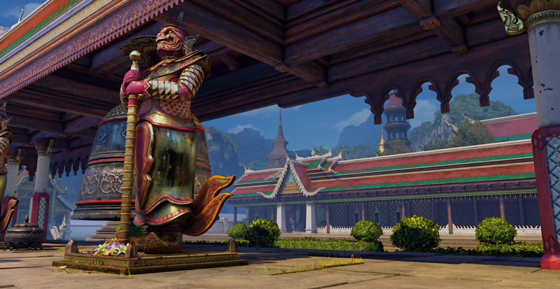 Street Fighter V Thaïlande