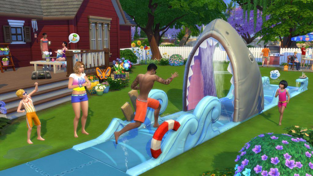 Les Sims 4 consoles