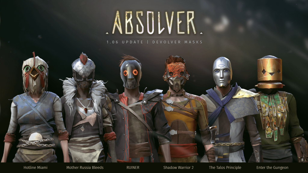 Absolver masques