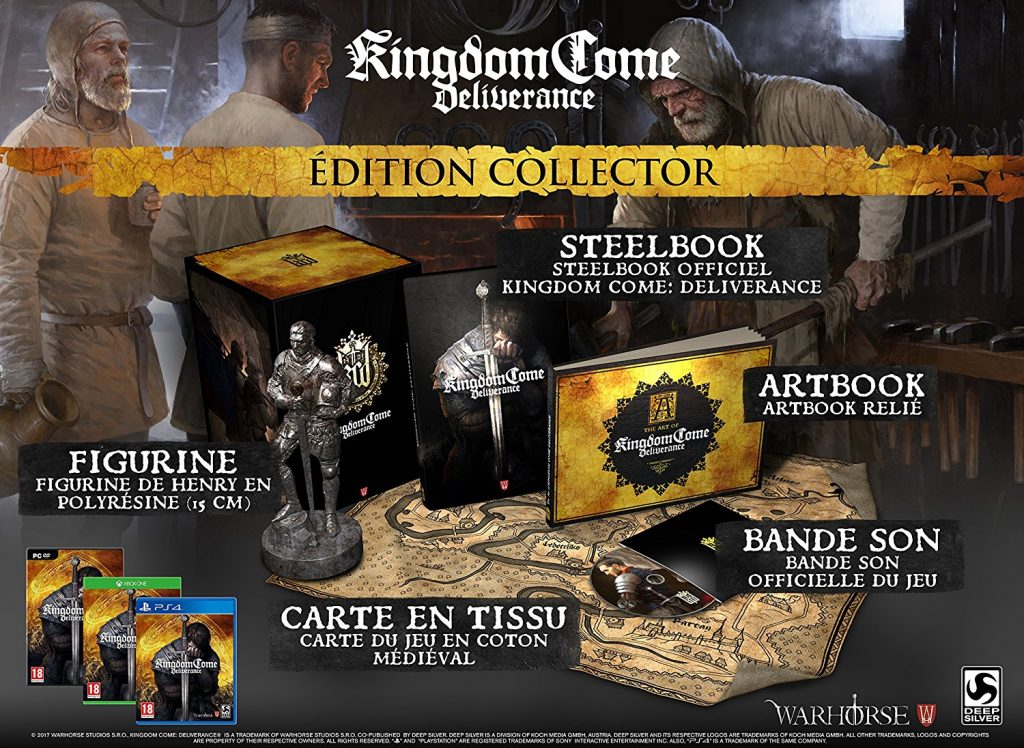 éditions Kingdom Come : Deliverance