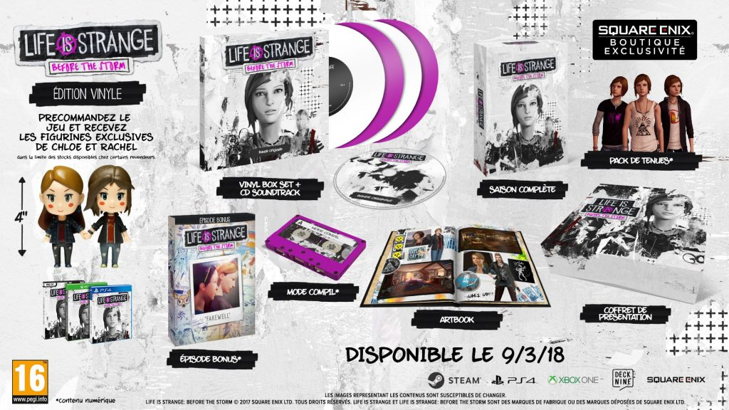 Version physique Life is Strange Before the Storm