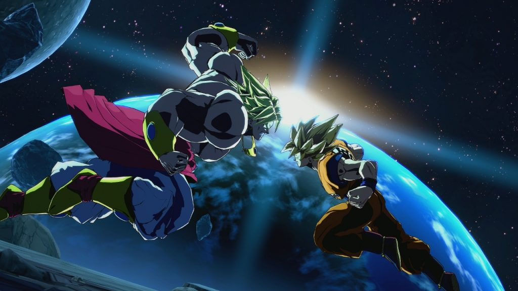 Broly et Bardock Dragon Ball FighterZ