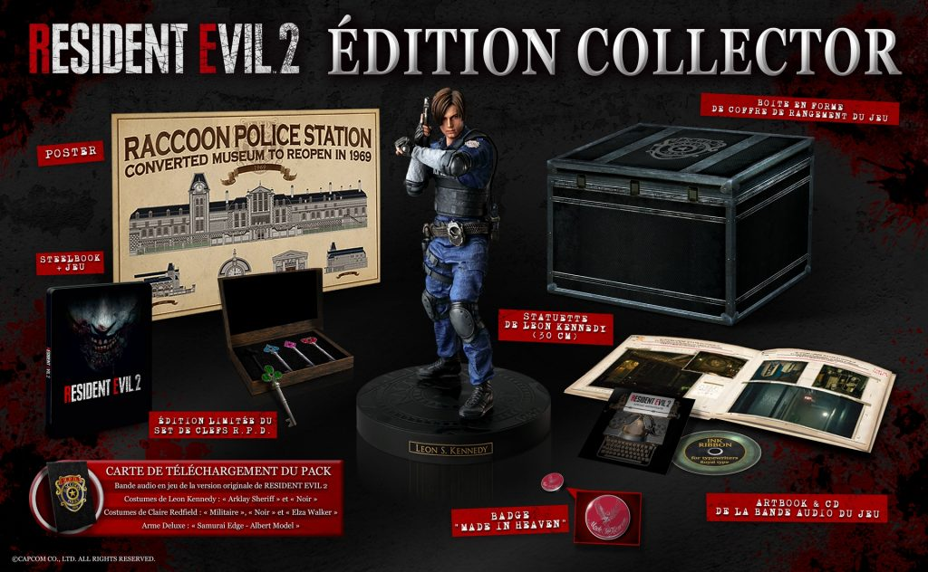 Resident Evil 2 collector