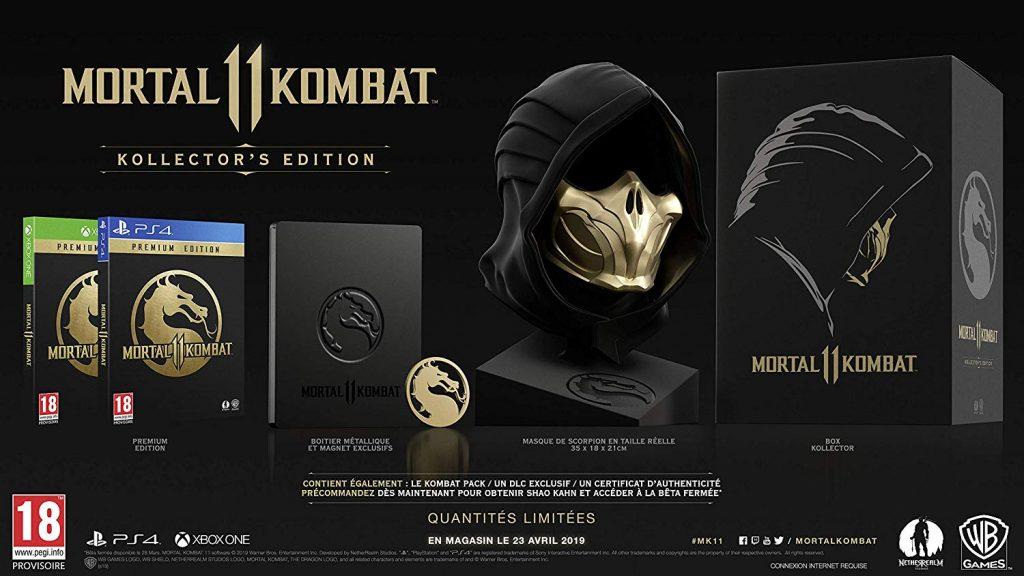 Kollector Mortal Kombat 11
