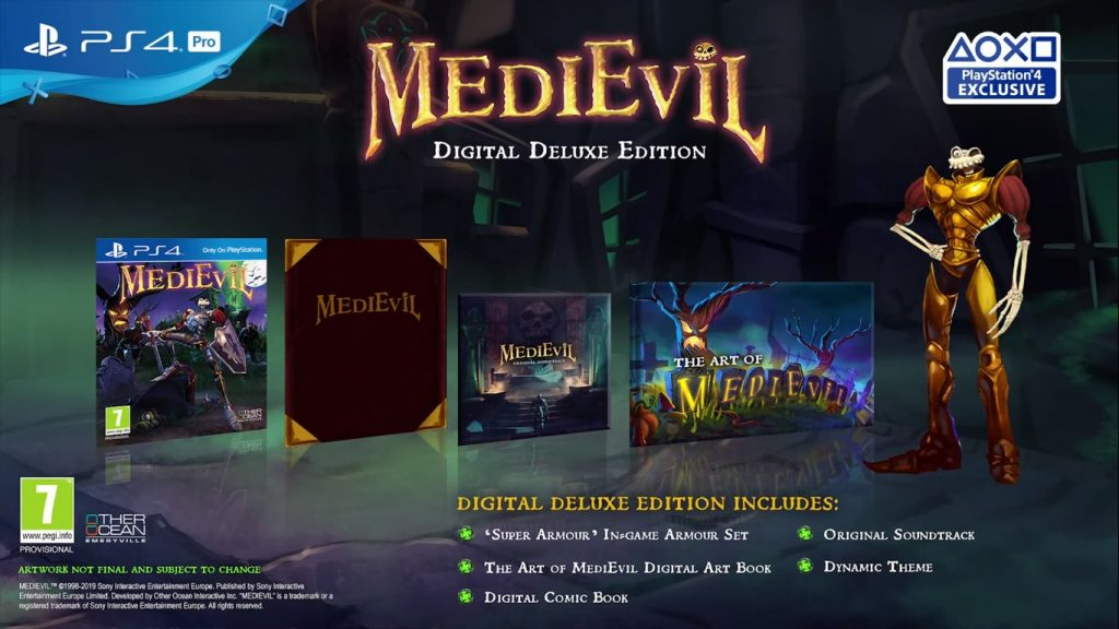 Medievil Deluxe Edition