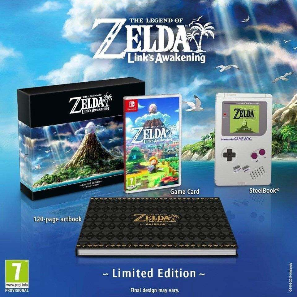 édition collector Link's Awakening