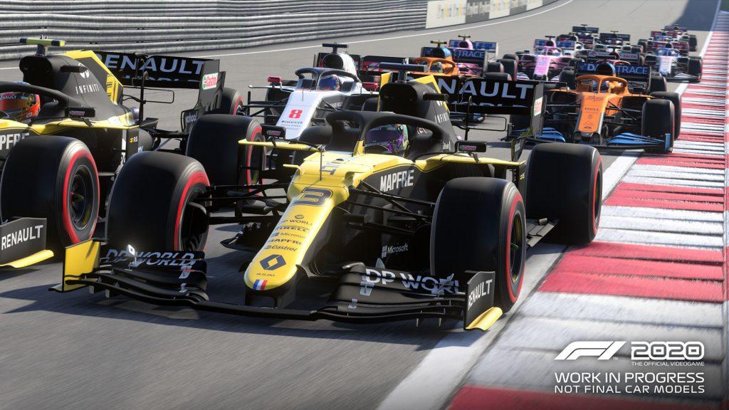 F1 2020 caractéristiques
